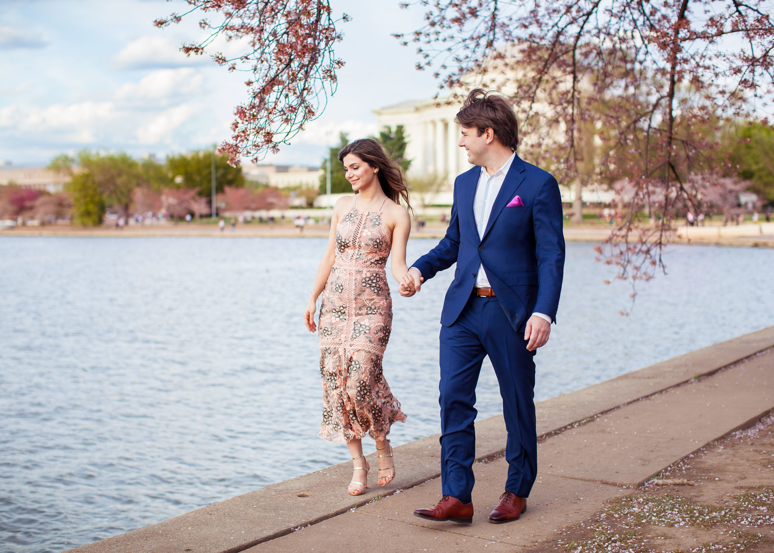 Hannah & Joe Cherry Blossom Engagement - 003.jpg
