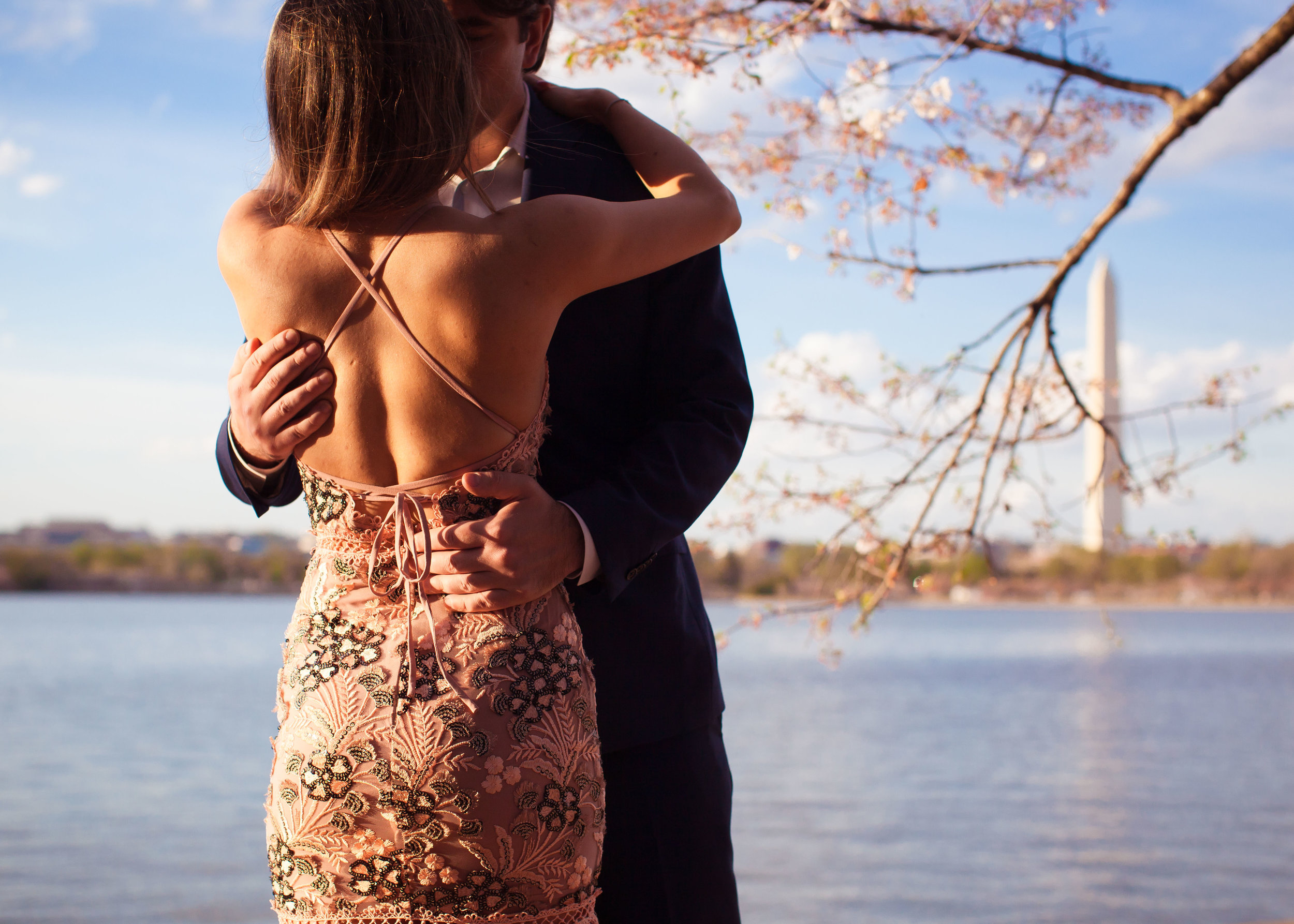 Hannah & Joe Cherry Blossom Engagement - 006.jpg