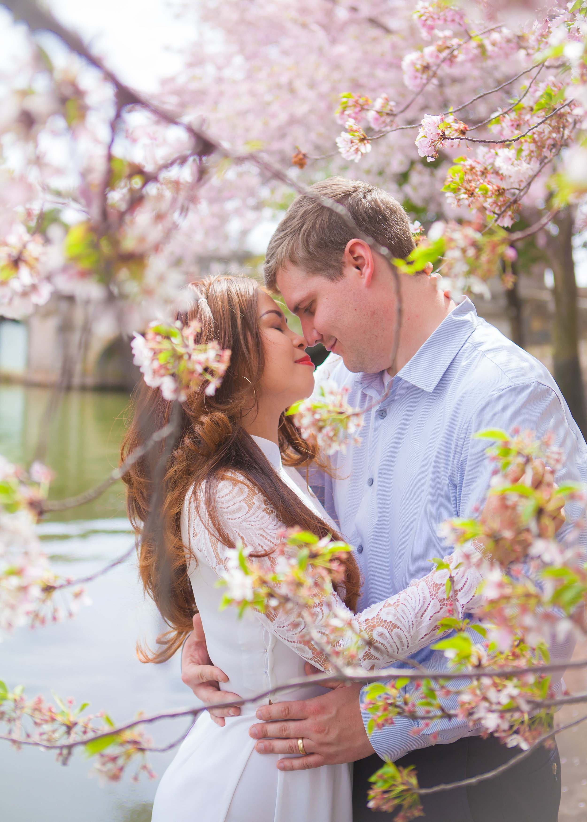 Steve & Ruby Cherry Blossom Portraits - 001.jpg