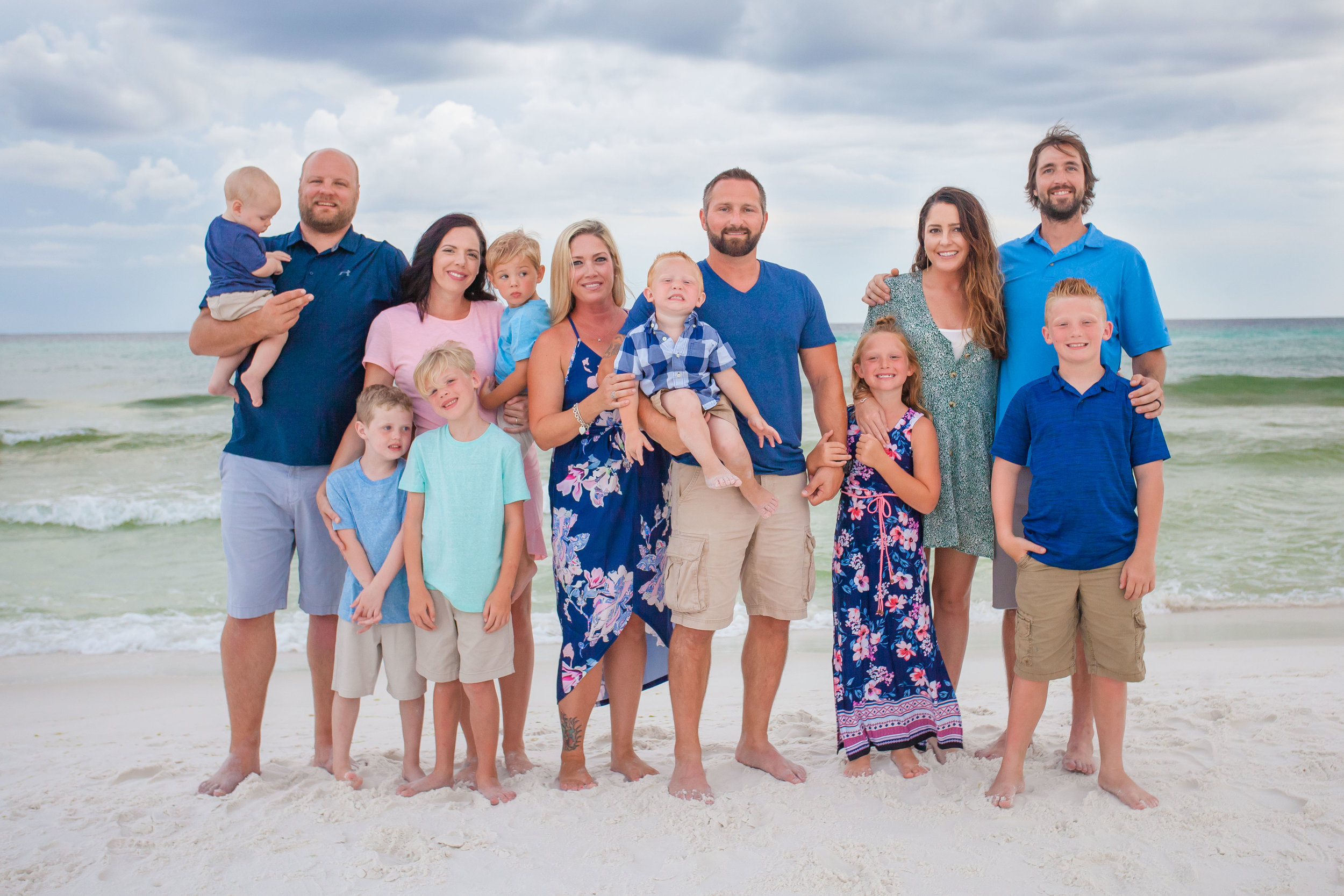 Santa Rosa Beach Family Vacation Photographer