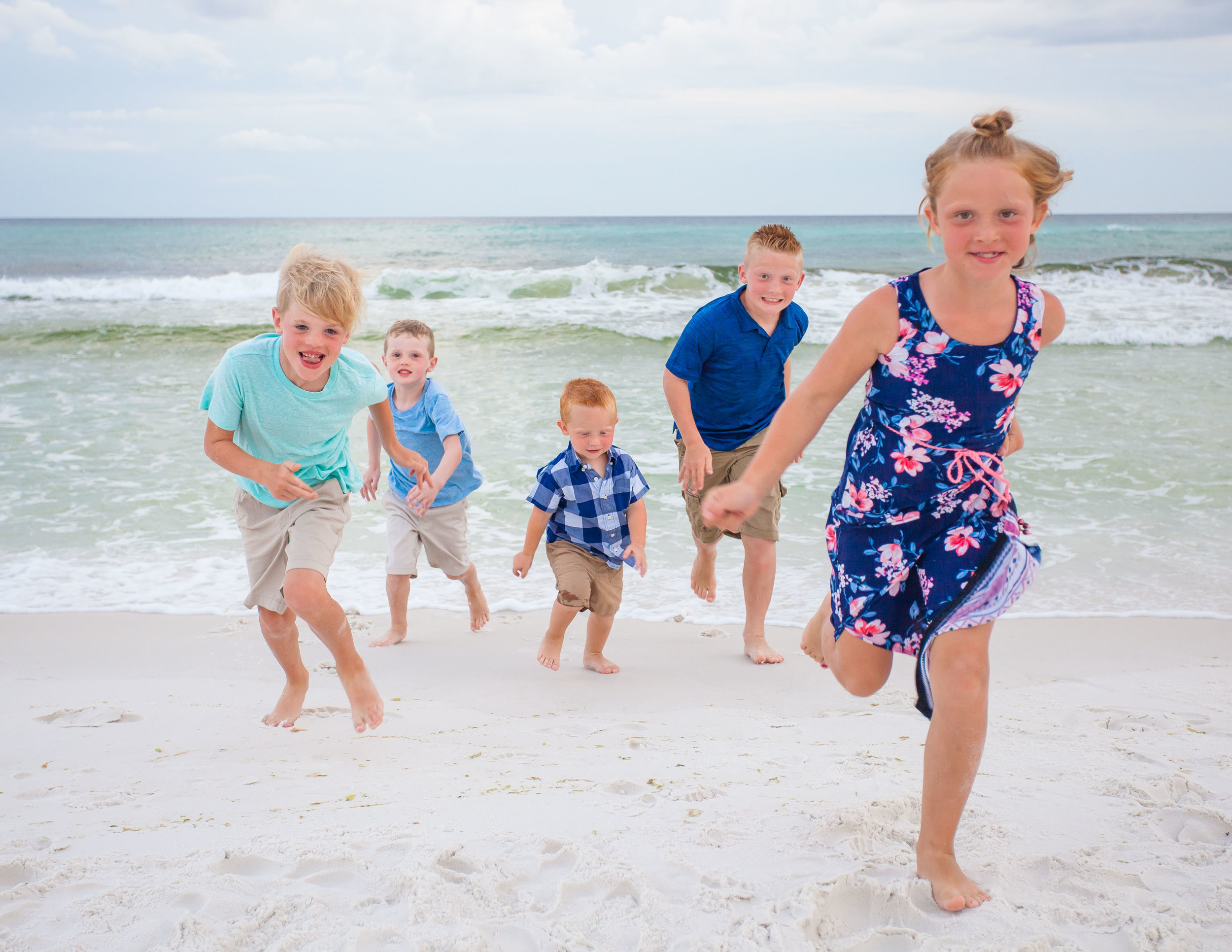 Santa Rosa Beach family portraits
