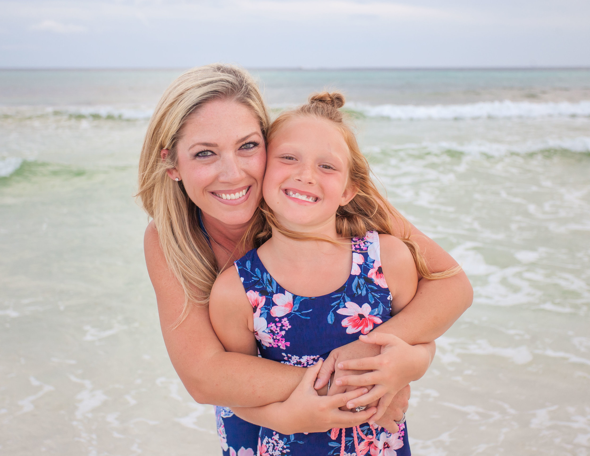 Seaside Beach Family Portraits