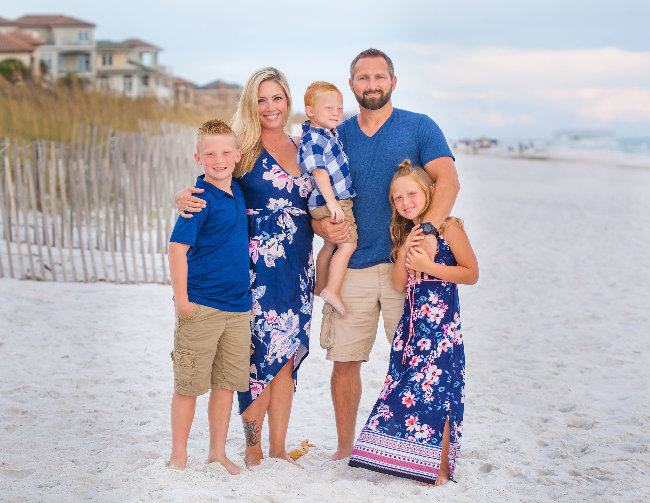 Seaside FL Beach Family Photographer
