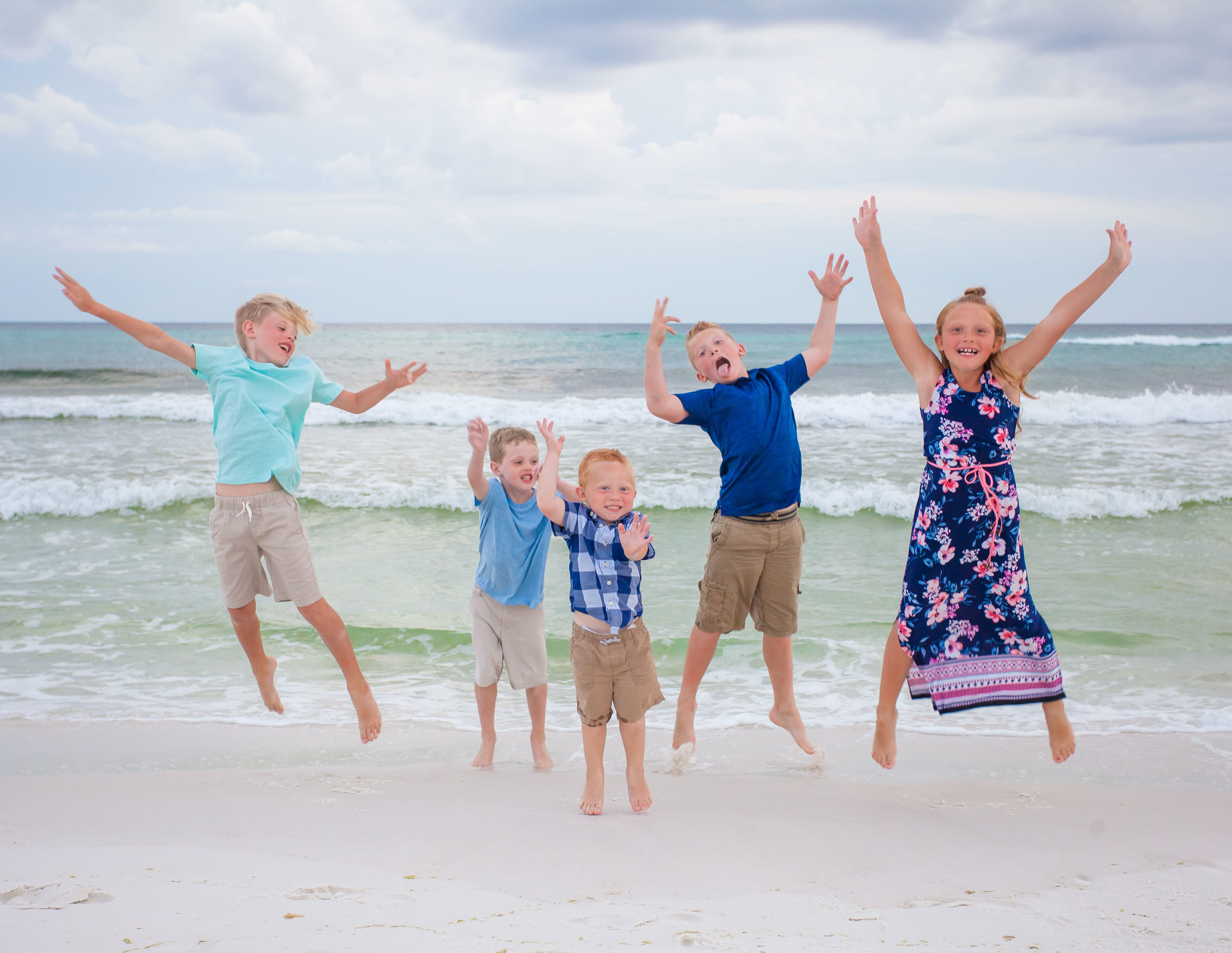 Fort Walton FL Beach Family Photography