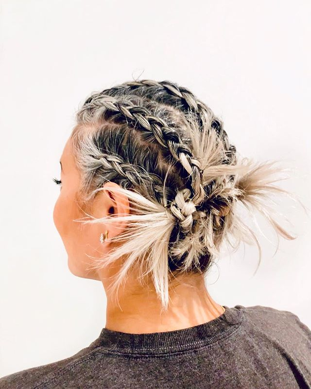 out of this world 💫  braided by our lovely @hair_by_didi