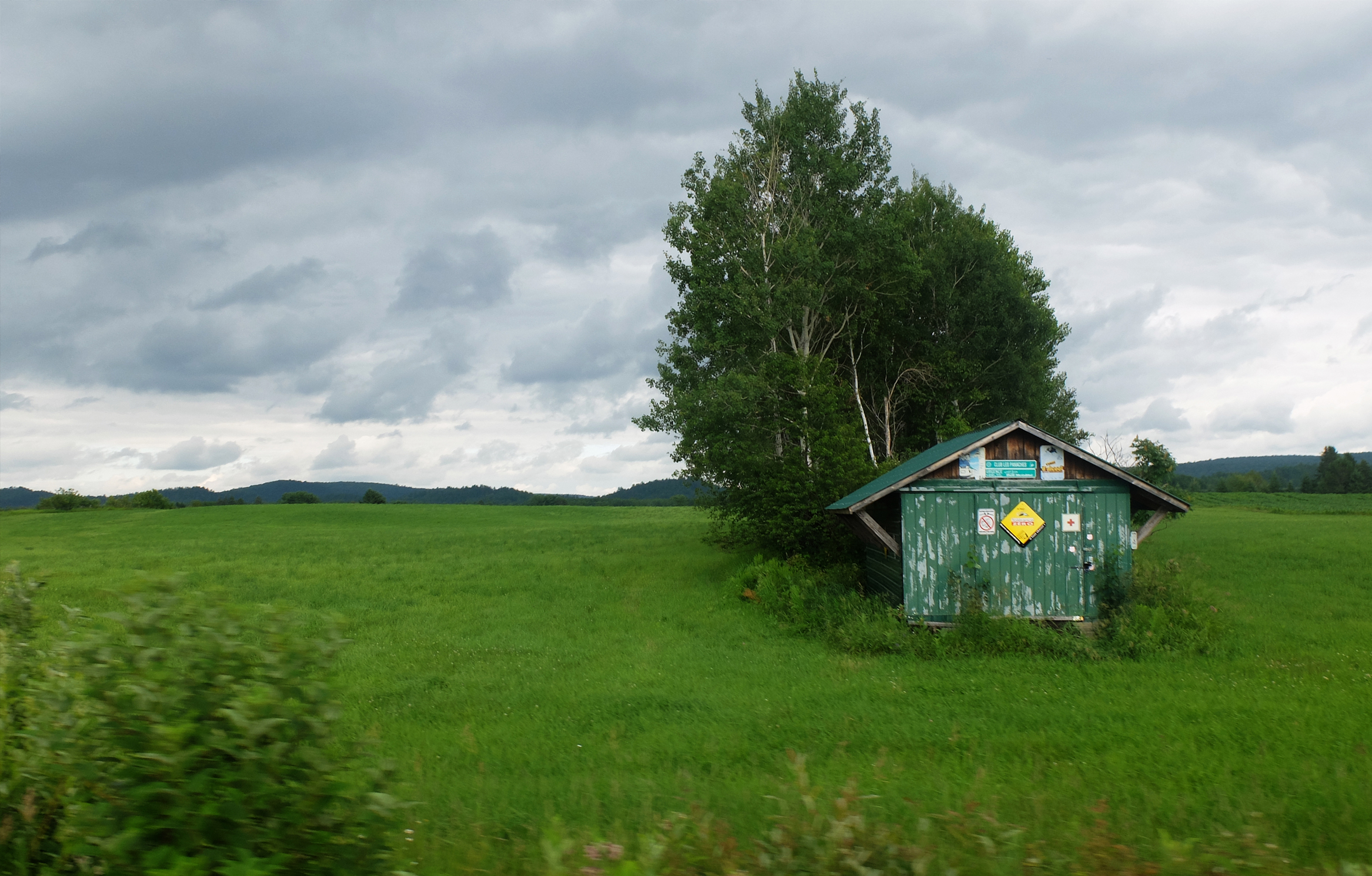 Untitled  (Field) Quebec Canada 2015
