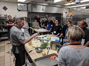 Blair Lebsack provides instructions for how to make savoury porridge.