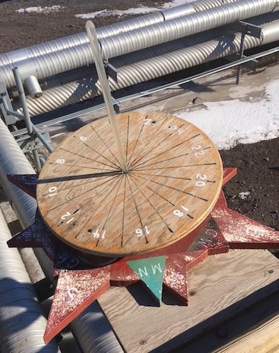 The Sundial/Compass