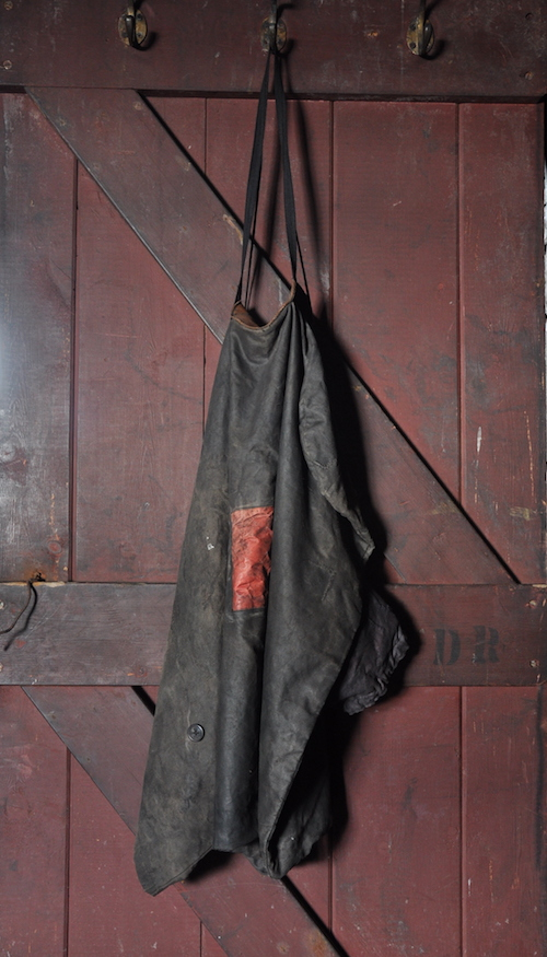 There was only one item that I was tempted to pilfer - the oilcloth apron hanging on Ponting's darkroom door.