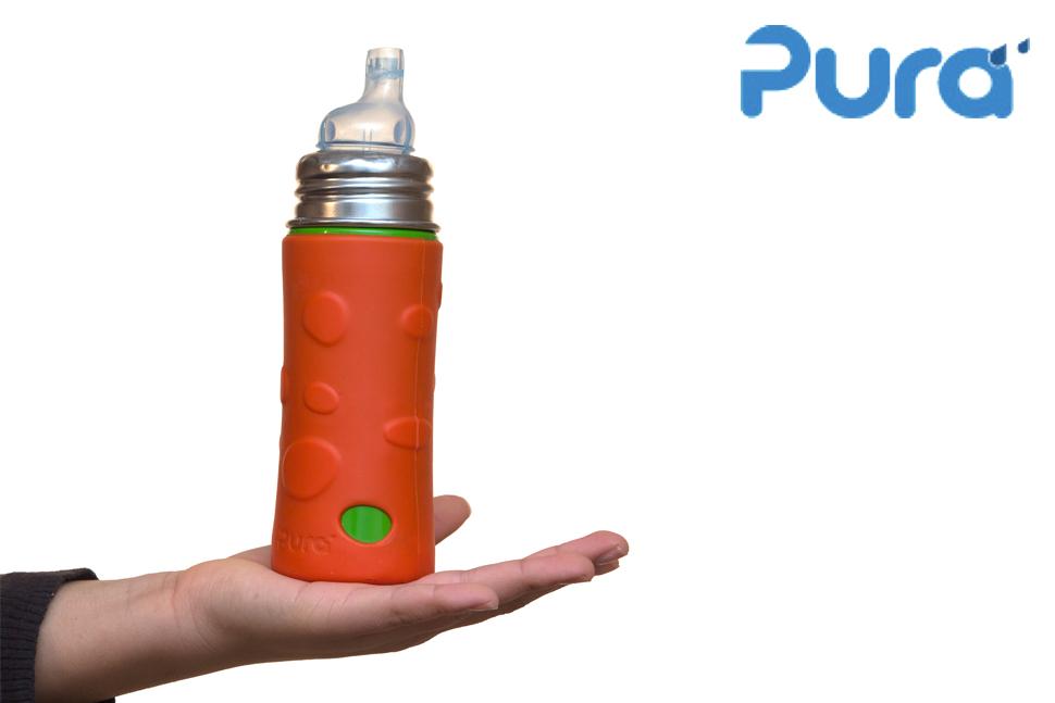 Pura - Stainless Steel Bottles