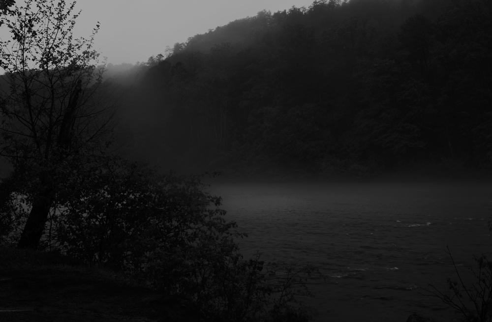 Rain on the Etowah River, Georgia 2016