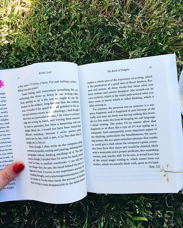 Don't read in the grass if you don't want bugs in your pants. #bookstagram