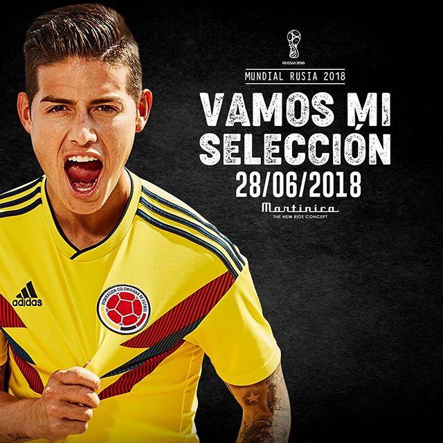 ¡Selección + Martinica + Budweiser = El triplete ganador que Colombia necesita! __________________________ #Mundial #Apoyo #Colombia #Senegal #TuTranquilo #Gol #FaseDeGrupos
