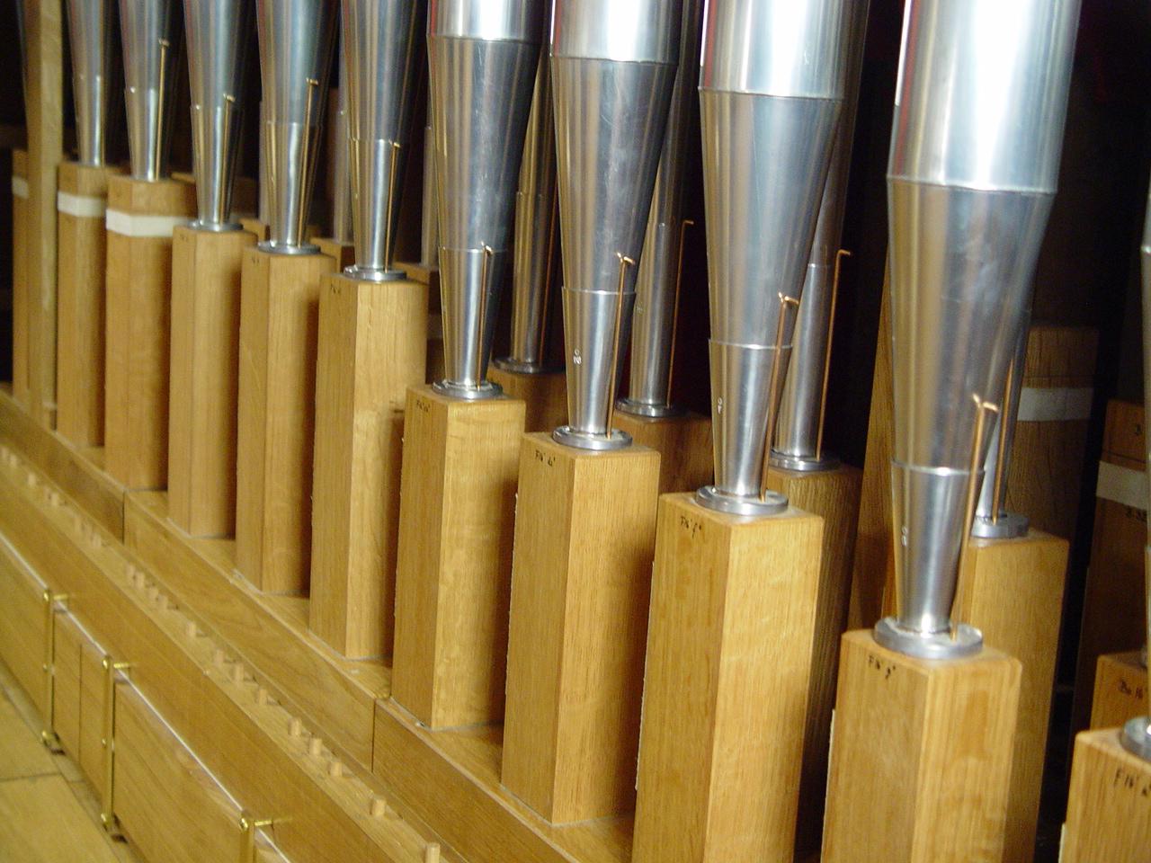 Holzstiefel eines Fagott 16'