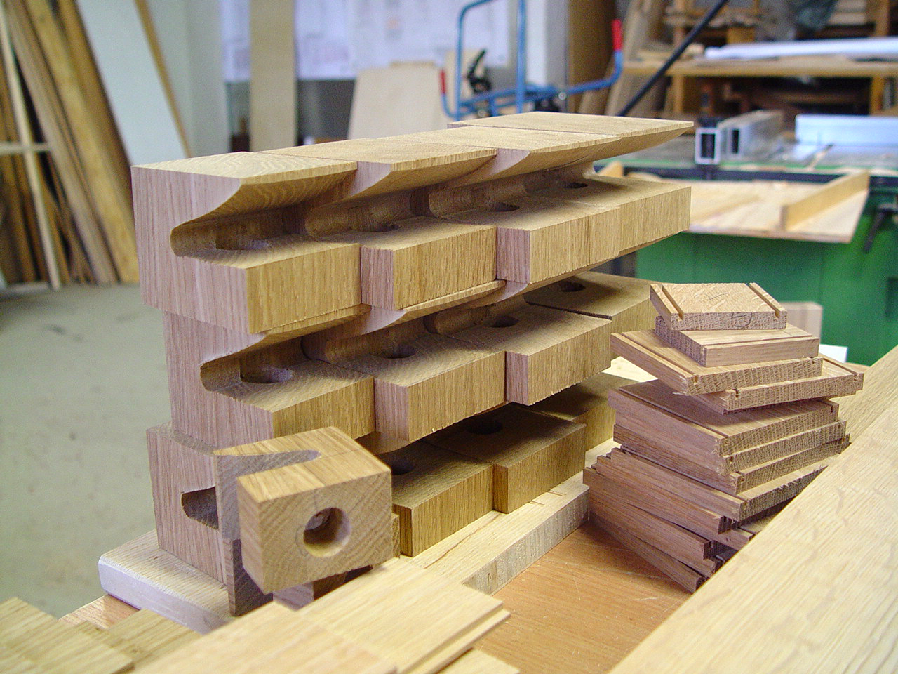 Kerne der Holzpfeifen