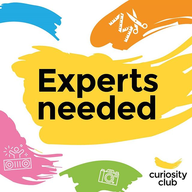 Would you be willing to have a young person visit you at work for 30mins to ask about your journey to 🌟 SUCCESS 🌟? If so, please send us a quick email on our profile, or via the link in our bio. Or comment. Or DM. However ~~~ we need U!  Being a Curiosity Club Expert means letting a young person briefly into your world so they can learn about your career path - and what steps they can take early on in order to find meaningful work in the future. Motivating them to continue and smash their studies 👊