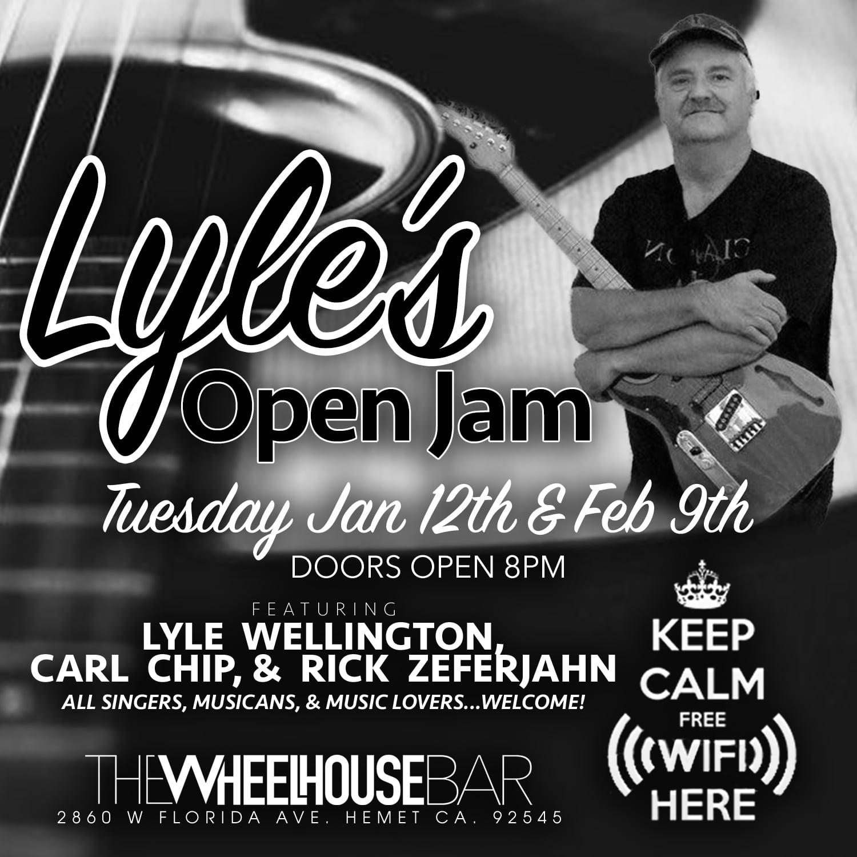 Jan 12th & Feb 9th Lyle's Open Jam.jpg