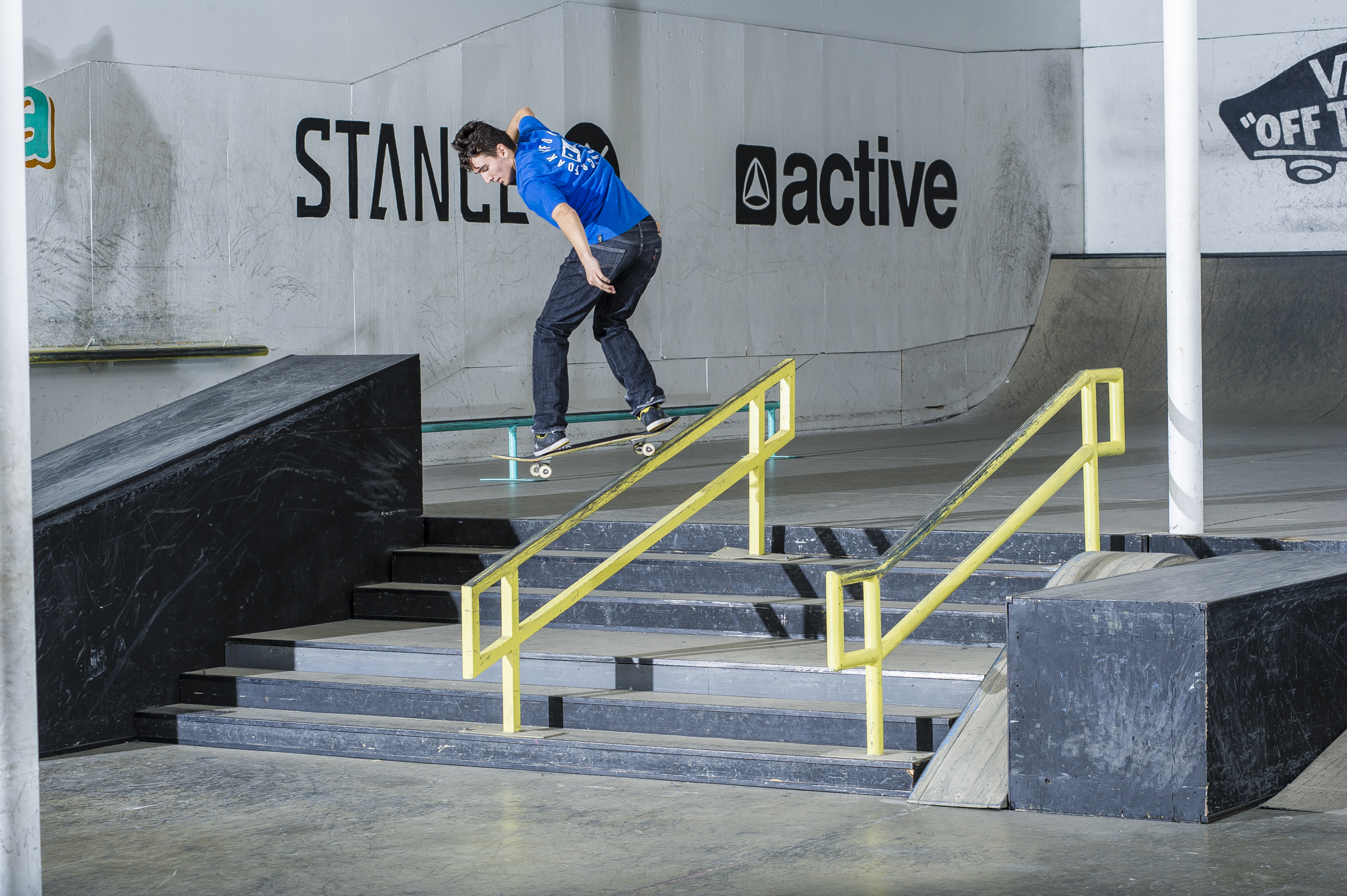 Isaak Abundis - backside lipslide