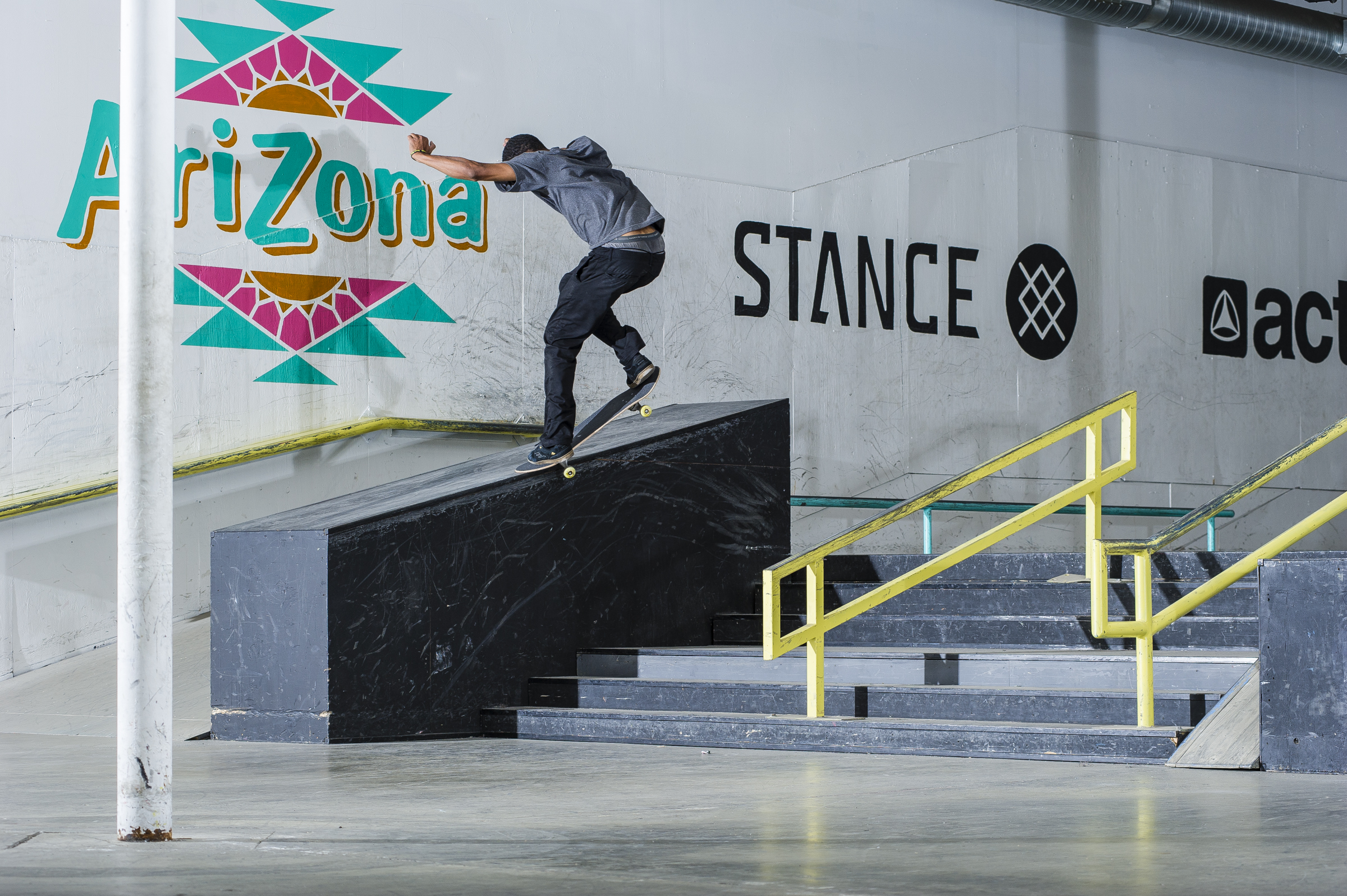 Robert Milas - frontside crooked grind