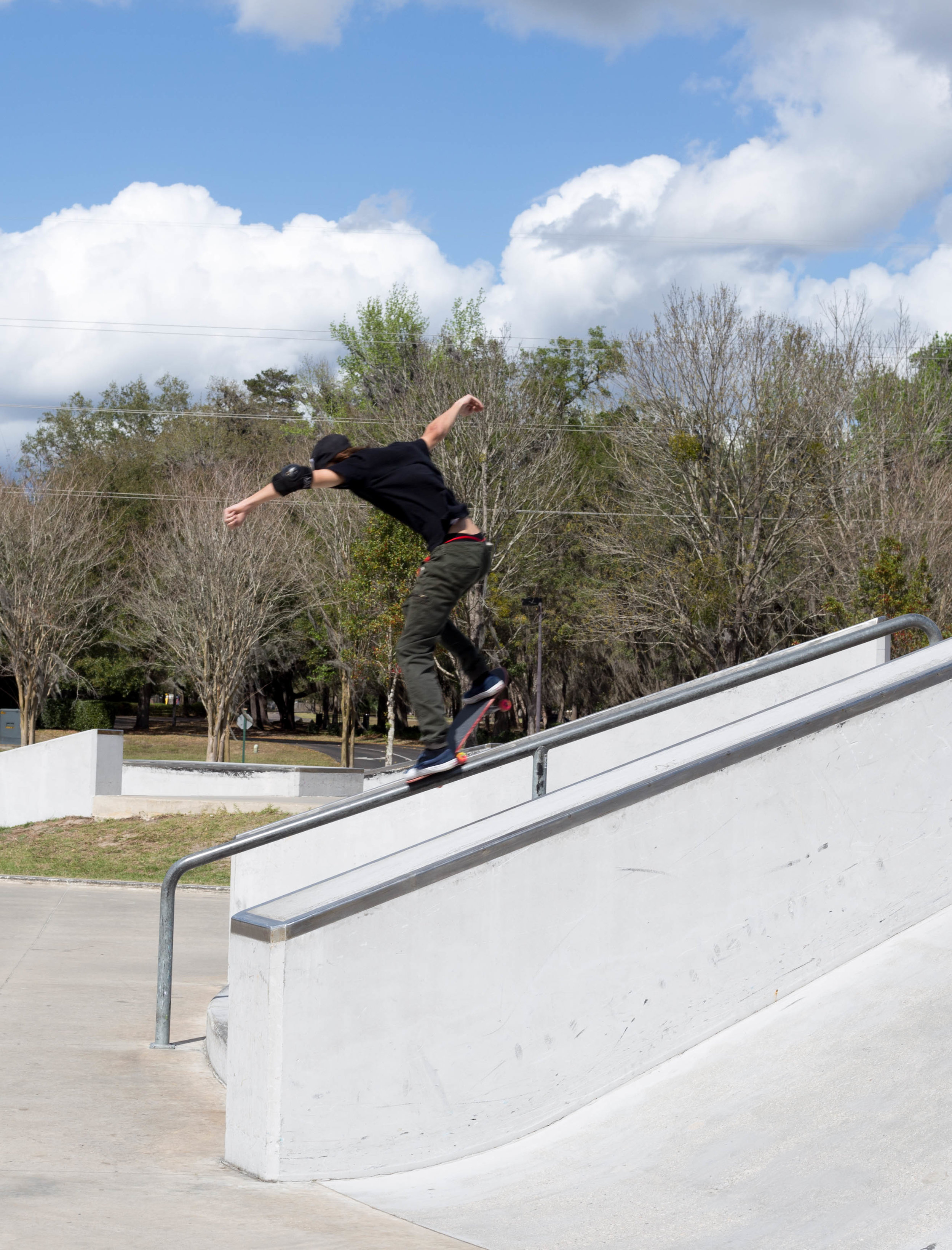 Haze Miller has a mean backside crook.