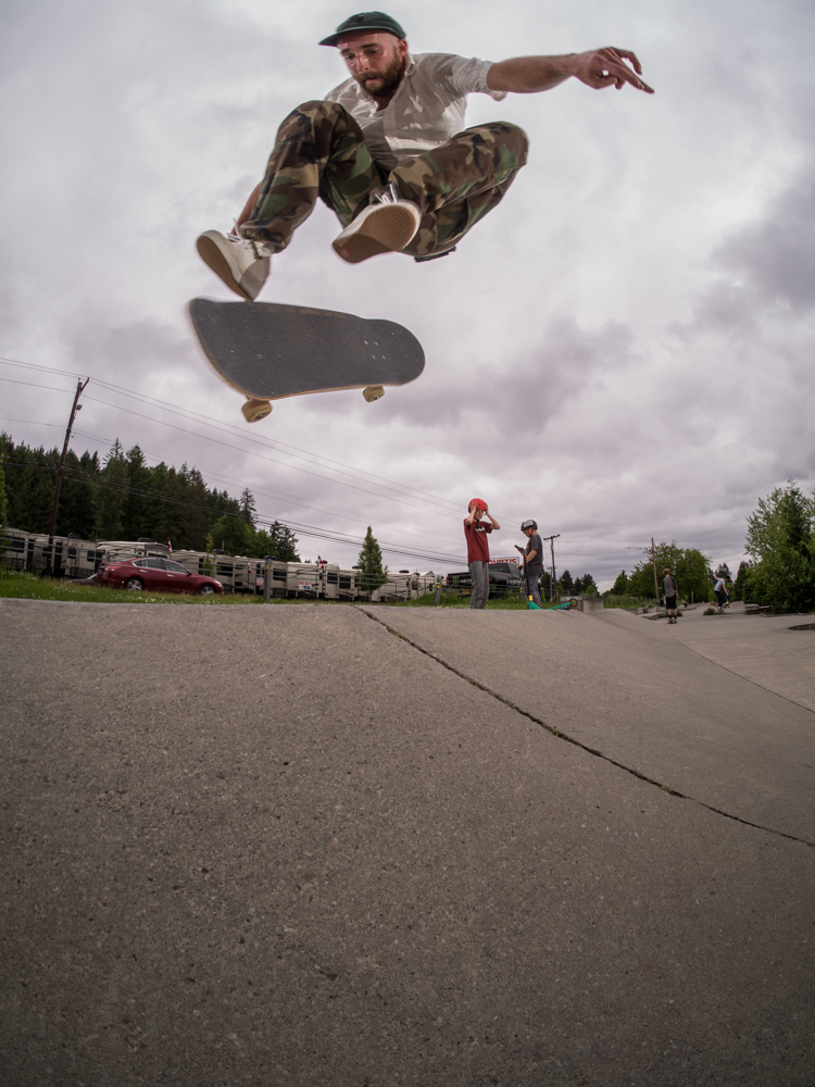 Josh Gibson - nollie inward heelflip