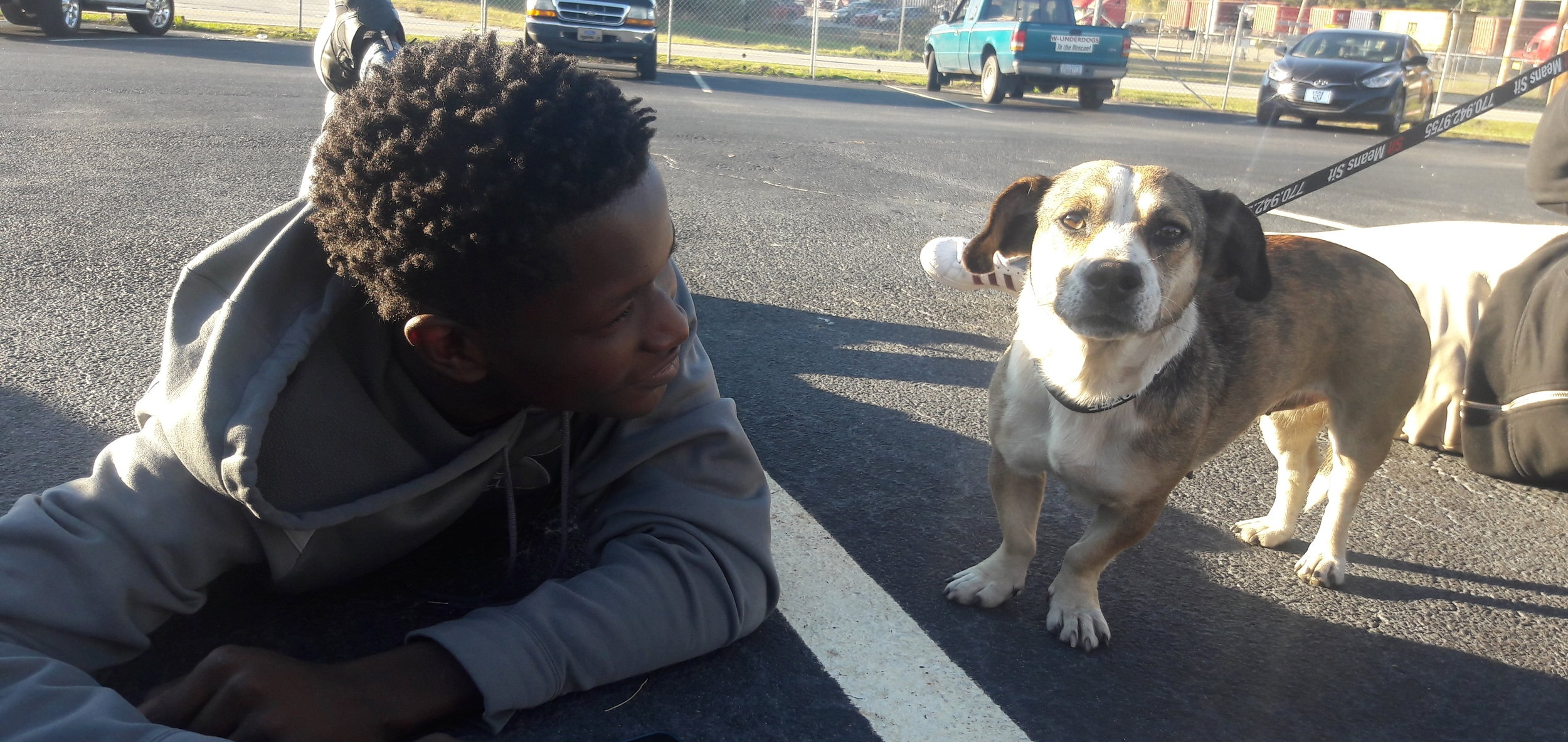 Our Mission - Lift up disadvantaged kids by helping rescue animals.