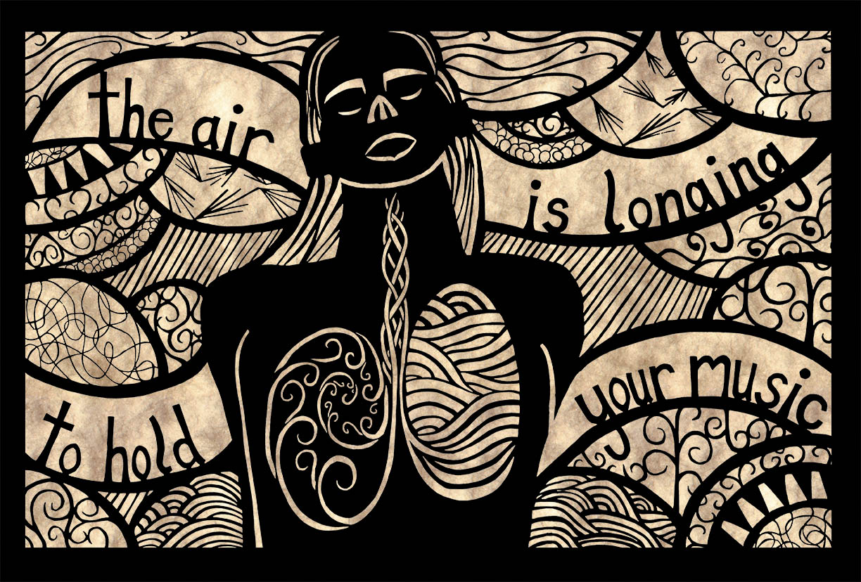 The Air is Longing to Hold Your Music