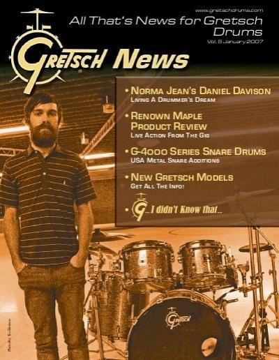 Cover of Gretsch News Magazine - 2007