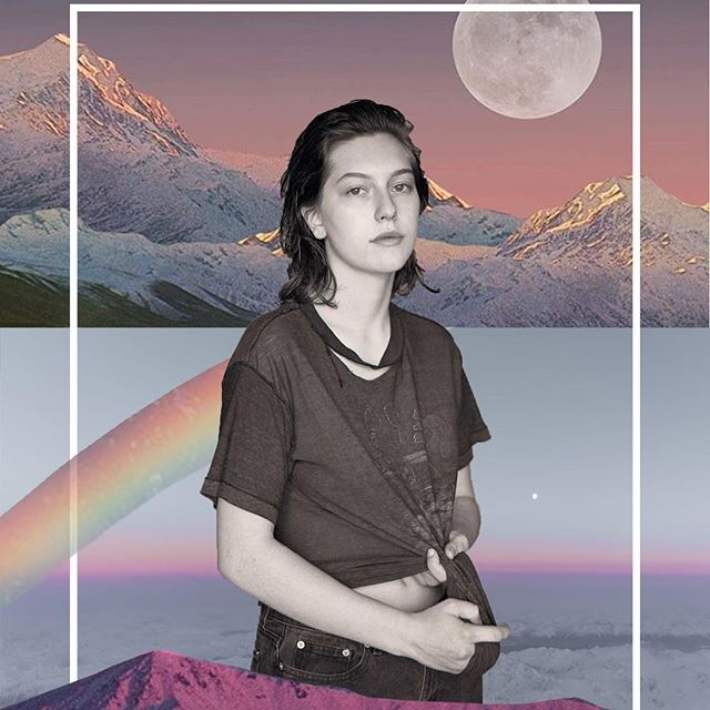 @envisageamity writes about @kingprincess69 and connecting to her queerness. Collage by @pickypickyykl 💓 🔗 in our bio!