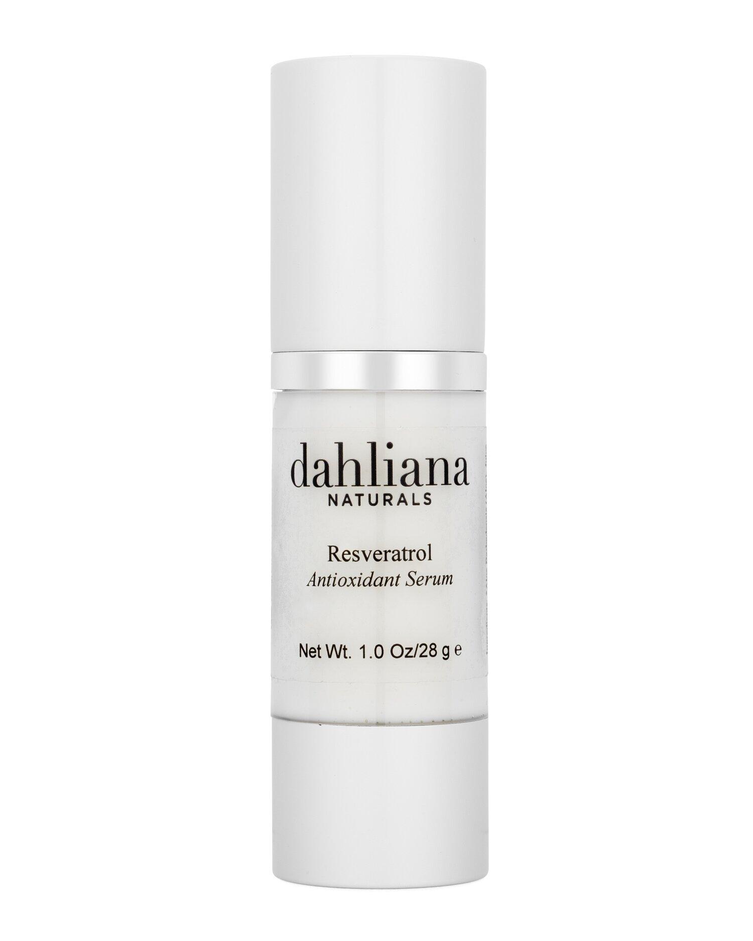 Resveratrol Antioxidant Serum Dahliana Award Winning Natural Skin Care