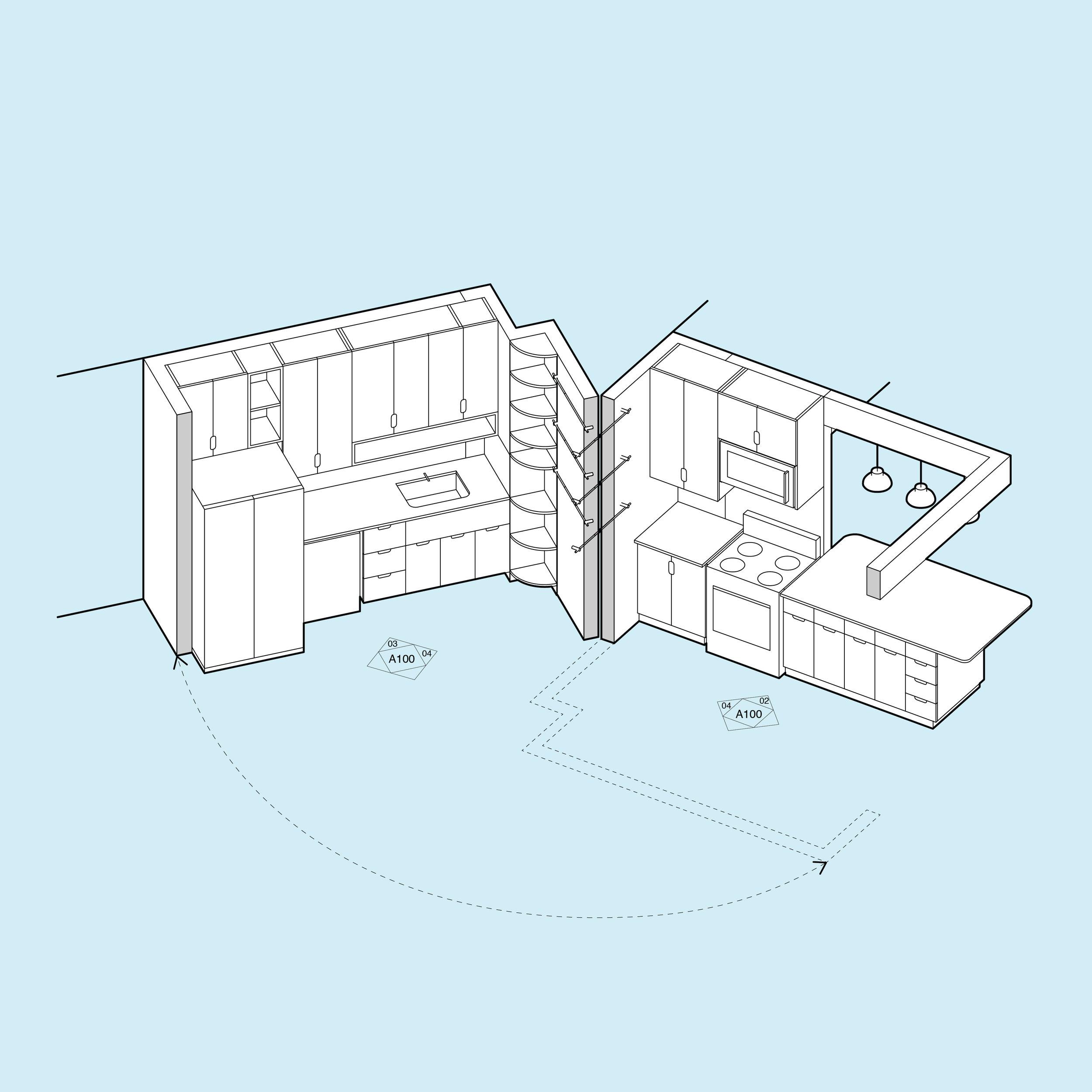 Handwerk_True Residence Kitchen_axon.jpg
