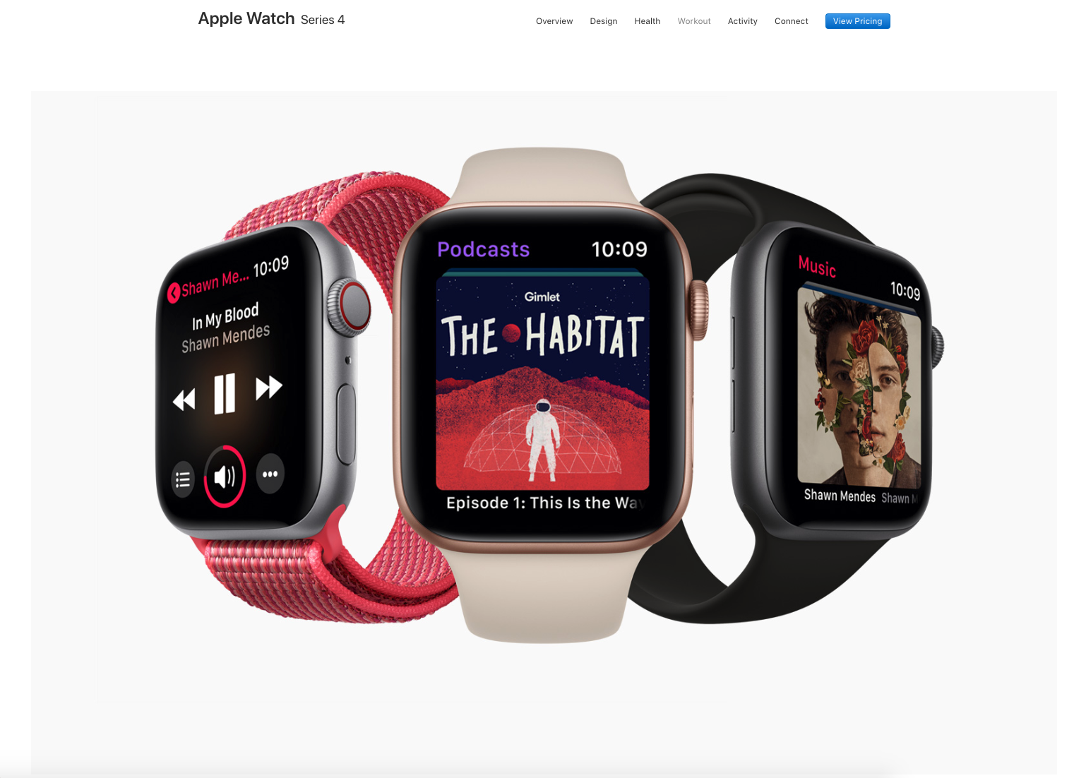 Apple used The Habitat artwork on their website when they launched all their new products including the new Apple Watch Series 4 in September 2018.