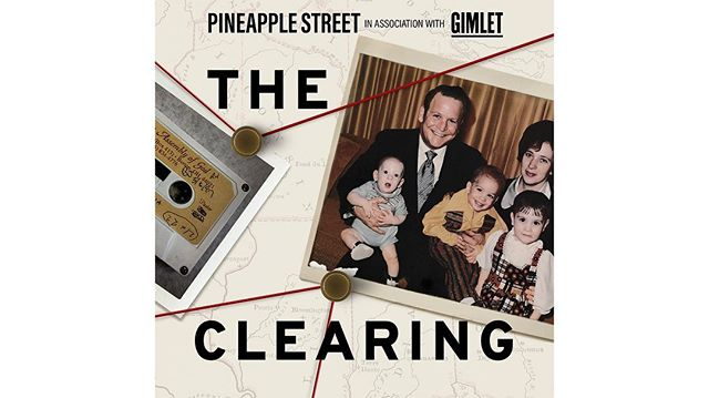 🔪WHERE MY TRU CRIME JUNKIES @ ?! Designed the show art for The Clearing, Pineapple Street Media and Gimlet's latest podcast. Coming to your earbuds in July 18th! ➡️ Swipe for trailer