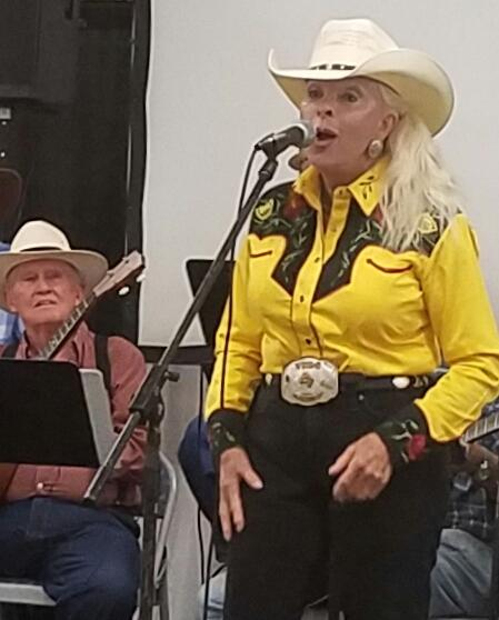 My friend Andria Kidd won second place in the Cowboy Poetry contest