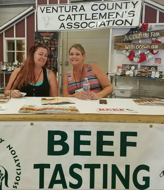 I sampled delicious Harris Beef pot roast, served up by the Ventura County Cattlemen's ASsociation