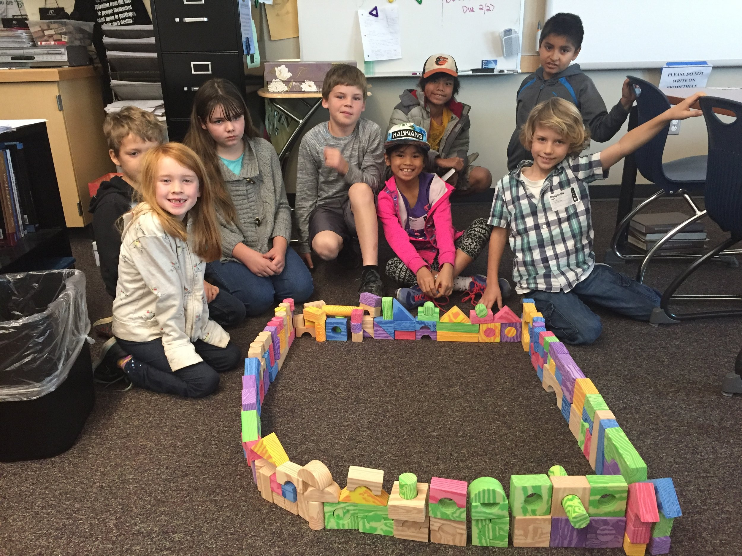 One of our Children's Ministry classes built their own wall while studying Nehemiah. Thank you to all our teachers who volunteers to teach our kiddos about Jesus!
