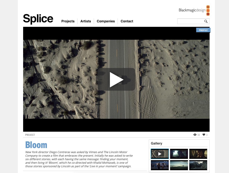 Interview on Blackmagic Design's Blog
