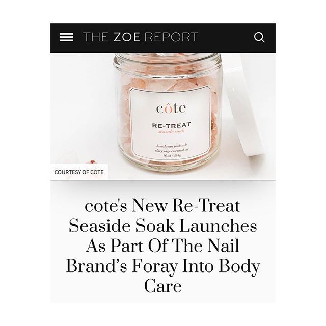 Tub time. @coteshop @thezoereport