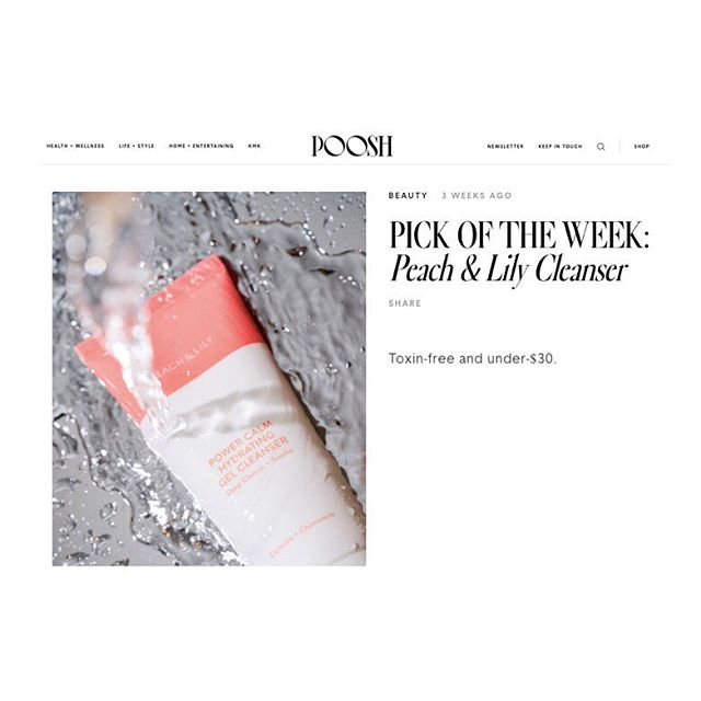 #pickoftheweek @poosh @peachandlily