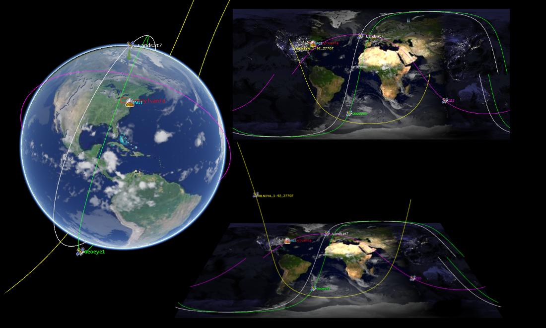 CesiumJS using orbital data