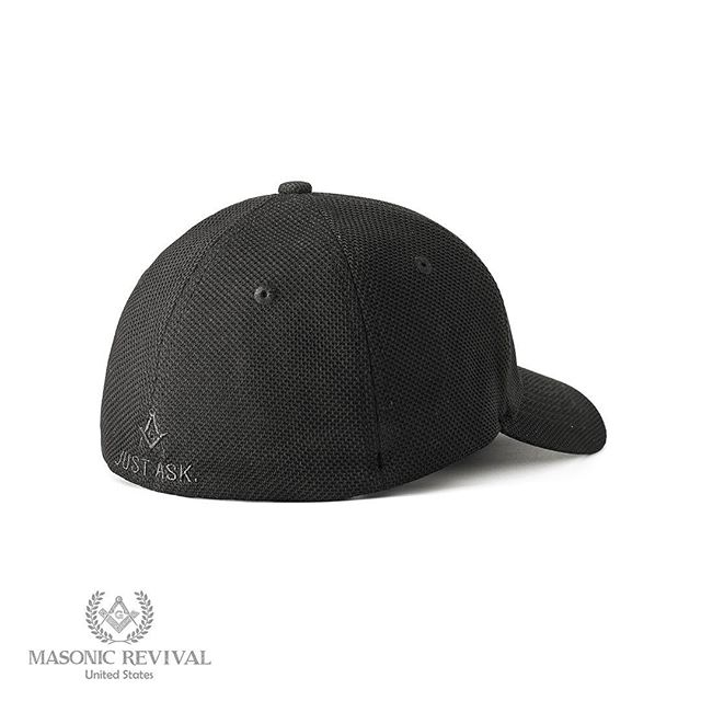 FYI! We now have the Noche™ Masonic Cap in Stretch Fit! Go check it out: www.masonicrevival.com/caps