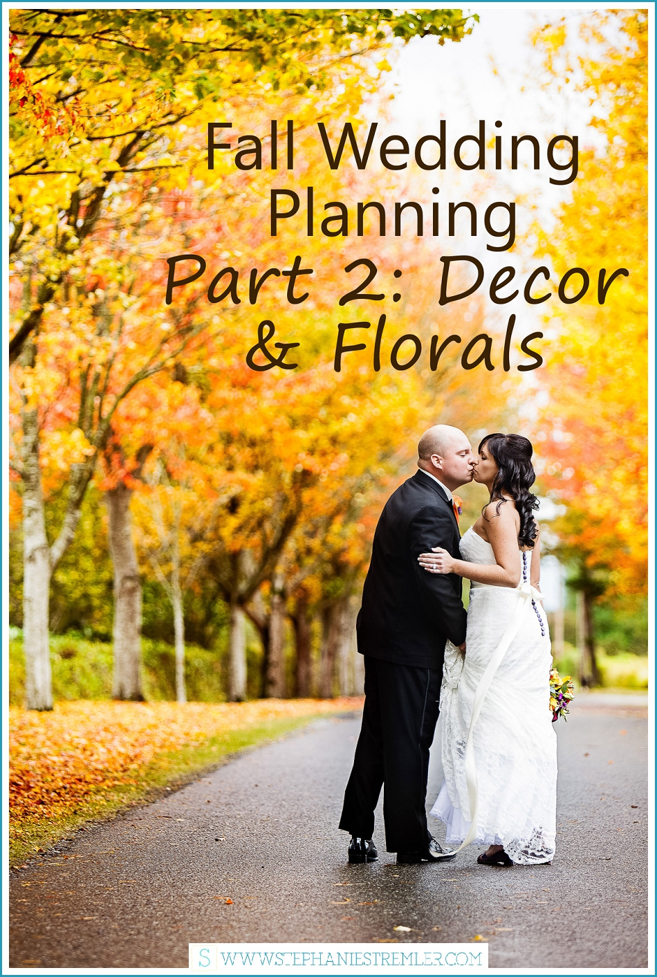 Fall wedding planning : Decor and florals