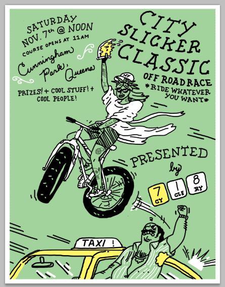 Digital - Poster design for bike race