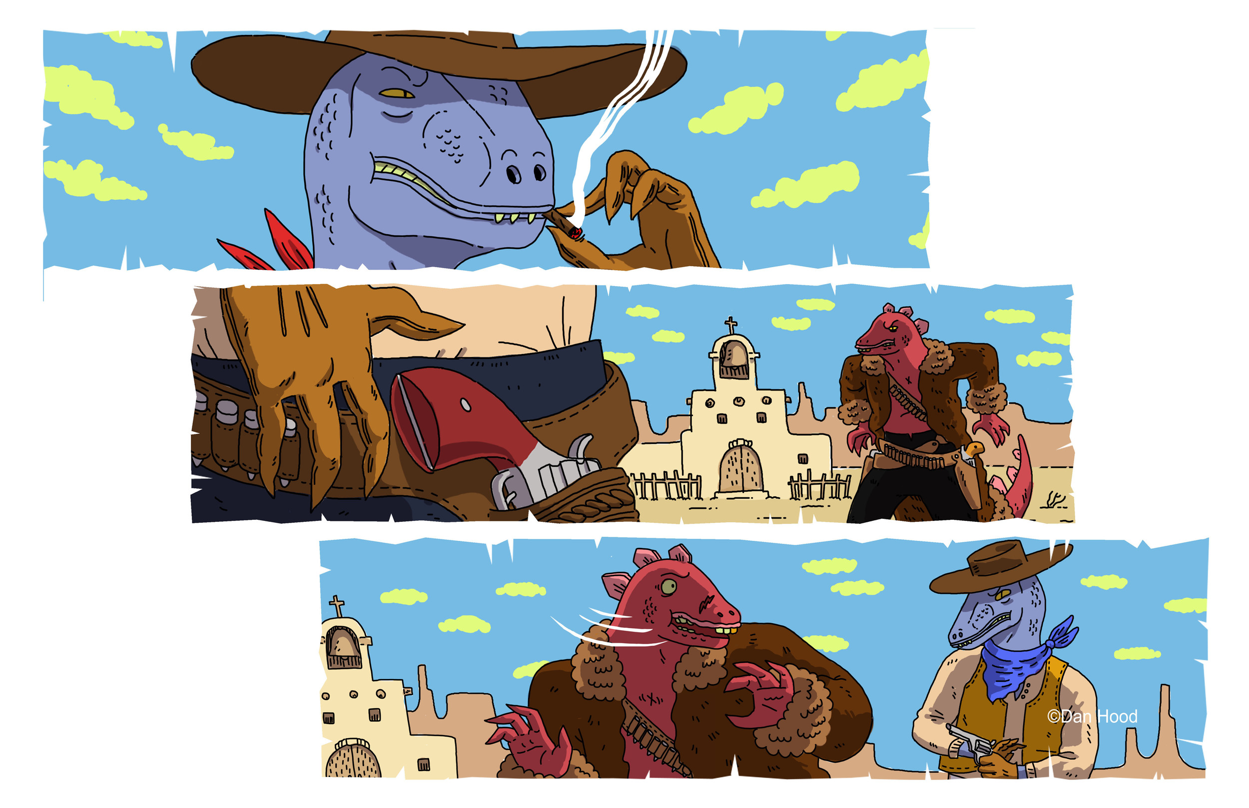 Digital - Concept art for animation