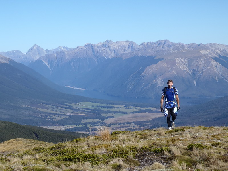 One of the Many Spectaular Vista's from Beeby's knob out over the Nelson Lakes