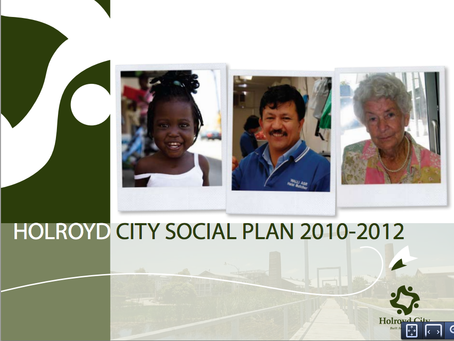 HOLROYD SOCIAL PLAN    Holroyd City    Cred delivered Holroyd's revised Social Plan aligning with its first Community  ...more