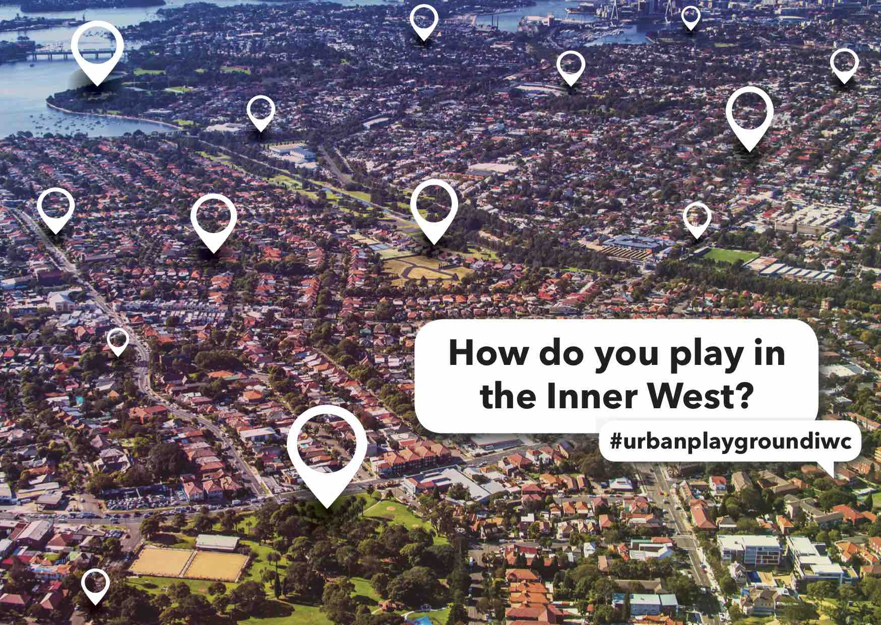Inner West postcard front