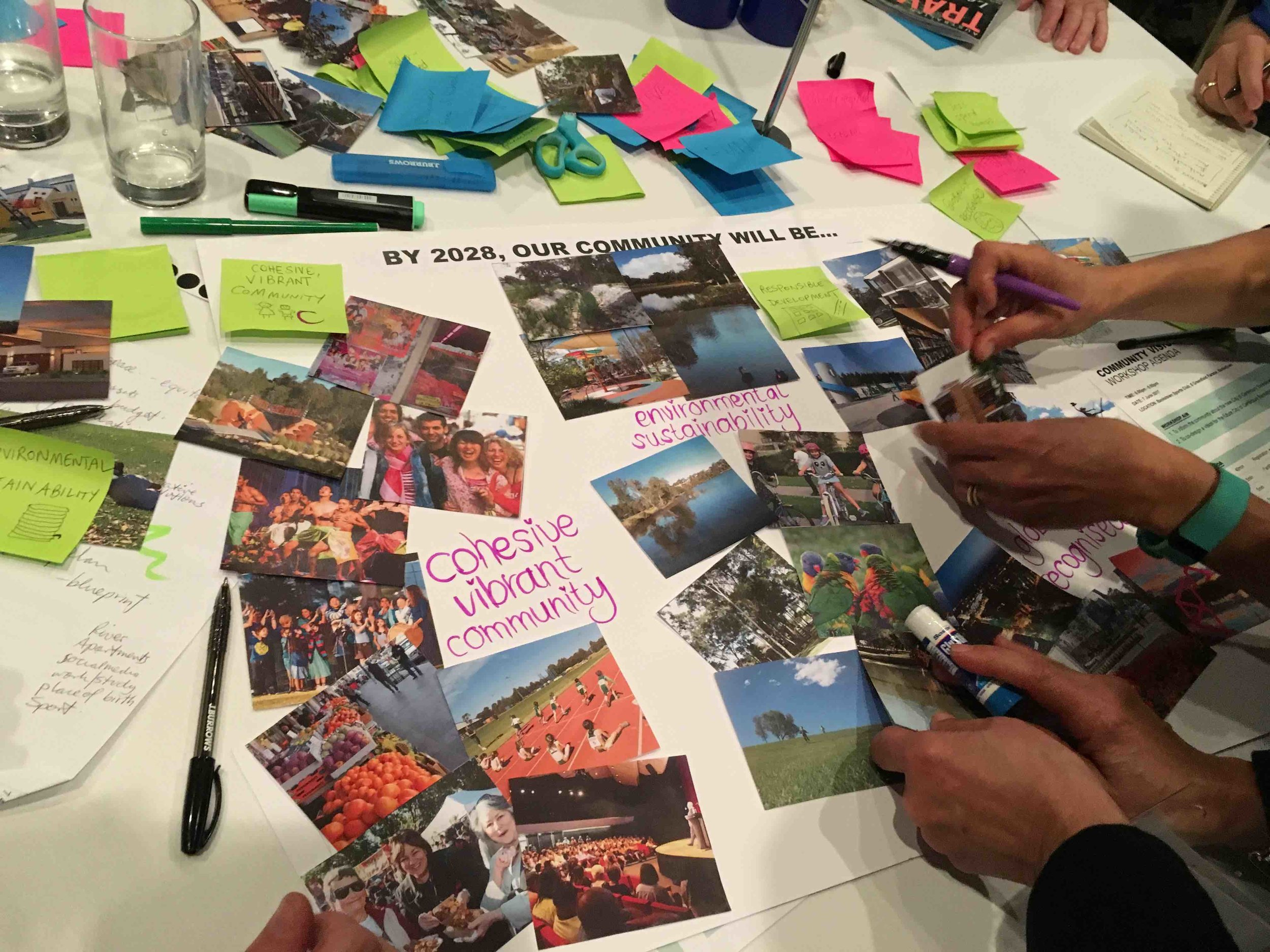 City of Canterbury Bankstown Community Strategic Plan - Visioning activity