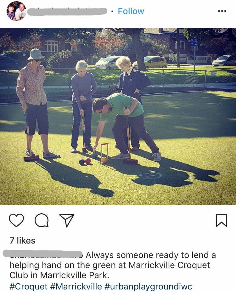 Inner West Recreation Needs Study - Instagram post