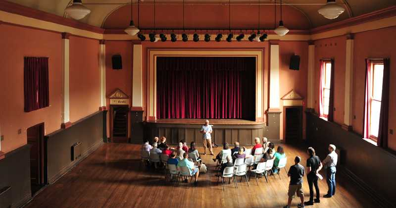 Granville Town Hall (Image: Pearls of Granville program - Information and Cultural Exchange)